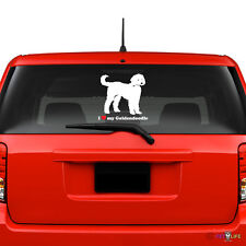 I Love My Goldendoodle Windshield Sticker Vinyl Auto Window doodle