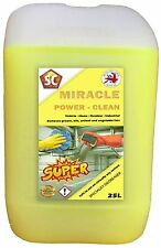MIRACLE POWER CLEAN Specialist Degreaser - Safe to use on virtually any surface