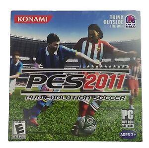 PES 2011 Pro Evolution Soccer TACO BELL ISSUED KONAMI PC DVD-ROM