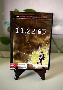 11.22.63 DVD Stephen King Region 4 Free Postage