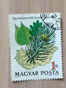 """Hungary 1976 """"Afforestation of 1,000,000th Hectare': 1 stamp set CTO"""