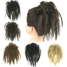 Synthetic Flexible Hair Bun Curly Hair Scrunchie Chignon Updo Ponytail Extension