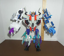 TRANSFORMERS POWER OF THE PRIME LOT STARSCREAM,JAZZ,RIPPERSNAPER,DREADWING