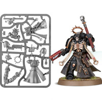 -- PRIMARIS CHAPLAIN -- space marine dark blood angels skull robe warhammer 40k