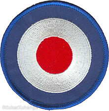 Bullseye PATCH Iron-On Embroidered Mod Target FDP09