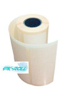 Self Adhesive White Sticky Labels postage address rolls 100x50mm 4x2 inch.