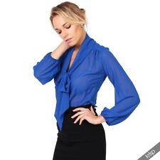 Camisa de mujer de color principal azul Talla 38