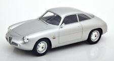 Cult Models 1961 Alfa Romeo Giulietta Sprint Zagato in Silver 1:18 Resin  MIB
