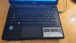 """ACER ASPIRE E13 13.3"""" INTEL CELERON N2840 2.16GHz 4GB RAM 1TB HDD ("""