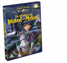 THE ADVENTURES OF ICHABOD AND MR TOAD DISNEY DVD NEW R2