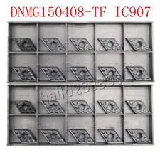 55 ° DNMG 150408-TF IC907 DNMG 432-TF CNC de carburo torneado Inserto Para mdjnr titular