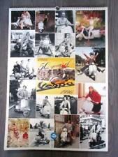 Calendario VESPA  50° anniversario 1946 al 1966