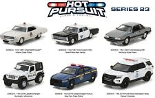 Greenlight 1/64 Hot Pursuit Police Cars Series 23 - Six Car Set Denver, New York