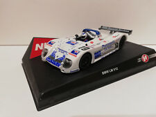 "SCX Scalextric Slot Ninco 50201 BMW V12 LM ""Panasonic"" Nº19 Pepsi Le Mans 1999"