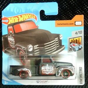 Hot Wheels 2018 HW Metro 327/365 '52 Chevy