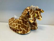 Giraffe Plush Slippers Women's Size Large