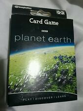 PLANET EARTH   BBC - Cards GAME- NEW SEALED - AGES 8+