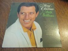33 tours ANDY WILLIAMS merry christmas
