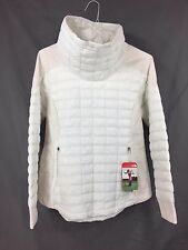 The North Face Women's Thermoball MA Pullover - White New With Tag Size L