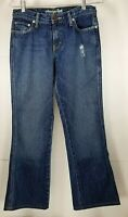 American Eagle Outfitters Favorite Flare Mid Rise Bootcut Size 0 Reg Distressed