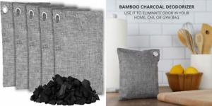 OLIVIA & AIDEN Bamboo Charcoal Air Purifying Bags - Natural Freshener...