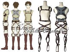 Shingeki no Kyojin Belts Attack on Titan harness Cosplay Pleather Straps AOT