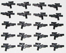 Lego Lot of 20 Black Star Wars Guns Weapons Blasters Pieces