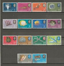 BARBADOS 1965 SG 322/35 USED Cat £12.50