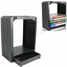 Universal Game & Blu Ray Disc Storage Tower Shelf Stand Kit For Xbox One PS4