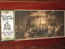 "MY CHEMICAL ROMANCE - FULLY SIGNED ""THE BLACK PARADE"" LITHOGRAPH"
