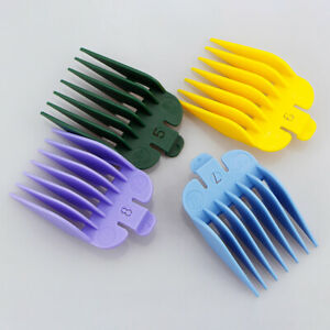 8PCS Universal Hair Clipper Guide Comb Attachment For WAHL Electric Hair Trimmer