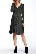 Nom Maternity Zuri Wrap Dress - CharcoalHunter - Size XL-US(16)