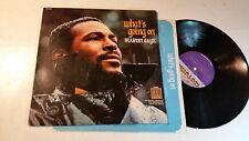 MARVIN GAYE What's Going On tamla MOTOWN LP soul '71 reissue w/lyric 5339ml ster