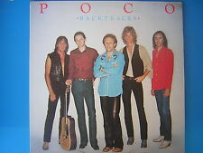 POCO LP  BACKTRACKS  GREATEST HITS 1982 SIGILLATO SEALED