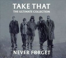 Never Forget: The Ultimate Collection [Remaster] by Take That (CD, Nov-2005, Sony BMG)