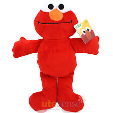 "Sesame Street Bedtime Elmo Plush Doll Large 12"" Mini Baby Pillow Soft Toy"