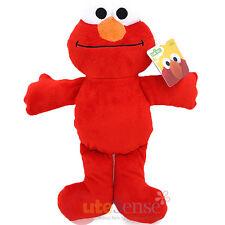 "Sesame Street Bedtime Elmo Plush Doll Large 12"" Mini Baby Pillow Soft Toy"