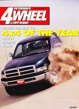 1994 Dodge Ram Truck 4x4 of Year 4-wheel Road Test Original Sales Brochure
