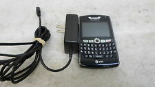Blackberry 8800 Smartphone At&T w/ Ac Adapter Tested