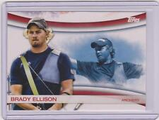 2012 TOPPS OLYMPIC BRADY ELLISON ARCHERY CARD GAMES OF THE XXX OLYMPIAD #OLY-1