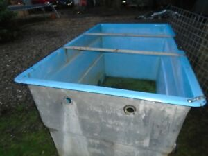 KOI HOLDING TANK OR FISH POND FIBREGLASS  WATER CONTAINER