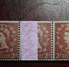 S49b 2d crowns:EXTREMELY RARE : 9.5mm Violet one band COIL STRIP of 3