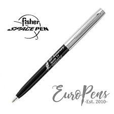 Fisher Space Pen Apollo Ballpoint Pen - 50th Anniversary - Black & Chrome UK