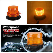 12V YELLOW LED Car Warning Alarm Light Flashing Strobe Beacon Emergency Light