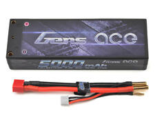 Gens Ace 2S 5000mAh 7.4V 50C 2S1P HardCase Lipo Battery with Deans Plug