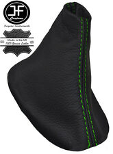 Engranaje De Cuero Automático Auto Costura Verde Polaina cabe FORD S-MAX FL 2010-2015