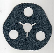 Dischi fibra AVOS zirconio Blu Norton F827 forati 637373 GRANA 50 - cf. 25 pezzi