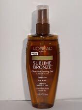 L'Oreal Sublime Bronze Sun Splash Clear Self-Tanning Gel 5fl Oz (08)