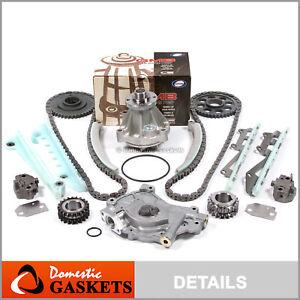97-02 Ford F-150 Lincoln Mercury 4.6L SOHC Timing Chain Oil& GMB Water Pump Kit