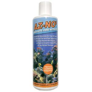 AZ-NO3 Absolute Zero Nitrate 240mL Marine and Reef Safe Nitrate Eliminator